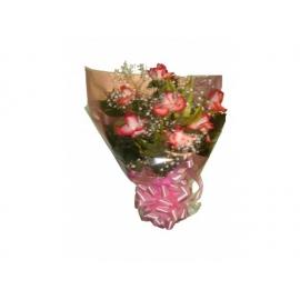 buquê c/ 7 rosas colombianas