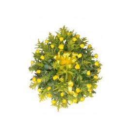 coroa c/ rosas amarelas A partir de:300,00