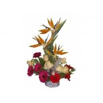 arranjo c/ flores naturais