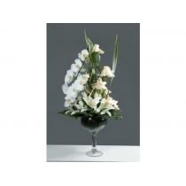 arranjo c/ rosas, lírios e orquídeas
